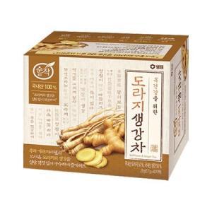 『センピョ』桔梗生姜茶(0.7gx40包・ティーバッグ)  生姜 健康茶 韓国茶 のど 冷え性 韓国飲料 韓国飲み物 韓国食品 paldo