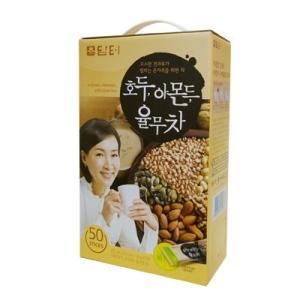 『ダムト』クルミ・アーモンド・ハトムギ茶|ユルム茶(18gX50包入)  韓国お茶 健康茶 朝食 1...