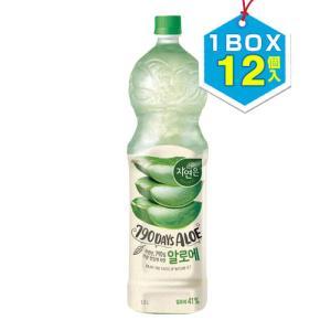【まとめ買いがお得★1個当り569円】『ウンジン』ジャヨヌンアロエ アロエドリンク(PET・1BOX=1.5L×12本) 韓国飲料 韓国ドリンク 韓国飲み物 韓国食品 paldo