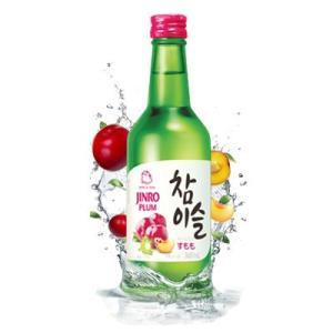 『眞露』チャミスルすもも | 焼酎 (360ml・リキュール)★すもも味 JINRO フルーツ焼酎 お酒 韓国酒 韓国お酒|paldo