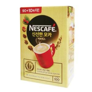 『NESCAFE』ネスカフェー 新鮮なモカ   モカミックスコーヒー (スティック11.7g×100本) ネスカフェ インスタントコーヒー 韓国コーヒー 韓国食材 韓国食品 paldo