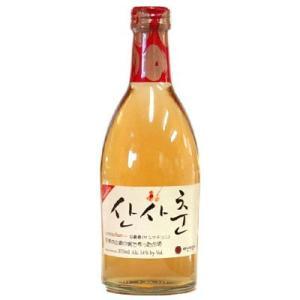 『ベサンミョン酒家』山査春|サンサチュン(370ml) 果実酒 韓国お酒 韓国酒|paldo