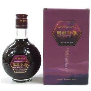 『名家』智異山 覆盆子酒|くまいちご酒(375ml)  トックリイチゴ酒 果実酒 伝統酒 健康酒 韓国お酒|paldo