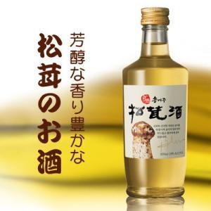 『ソルレウォン』自然産松茸酒(300ml) 松茸酒 伝統酒 韓国お酒|paldo