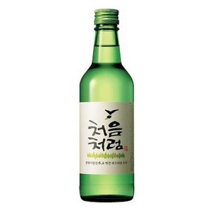 『LOTTE』初めてのように|チョウムチョロム 焼酎 (360ml・アルコール17%) お酒 韓国焼酎 韓国お酒 韓国食品|paldo