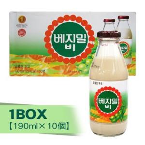 『ション食品』ベジミルB(瓶)1BOX(=190ml×10本) [韓国飲料][韓国飲み物]|paldo