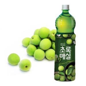『ウンジン』 チョロックメシル   梅ジュース(1.5L×1本・PET) 青梅 健康飲料 食後飲料 韓国ドリンク 韓国飲み物 韓国食品 paldo