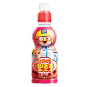 『paldo』ポロロ ジュース(いちご味×235ml)   お子様向け飲料 韓国飲料 韓国ドリンク 韓国飲み物 paldo
