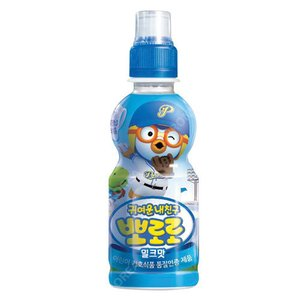 『paldo』ポロロ ジュース(ミルク味×235ml)   お子様向け飲料 韓国飲料 韓国ドリンク 韓国飲み物 paldo