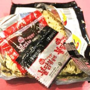 『三養』ブルダック炒め麺|火鶏炒め麺・激辛口(5個入りパック) ■1個当り137円|paldo|02