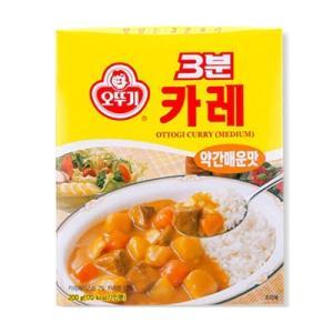 『オトギ』3分カレー(200g・1人前・中辛) [韓国レトルト][韓国食品]|paldo