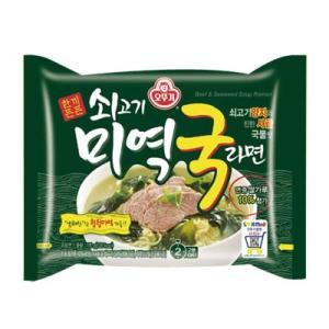 『オトギ』牛肉わかめスープラーメン(115g・535kcal) オットゥギ 韓国ラーメン インスタントラーメン 韓国料理 韓国食品|paldo
