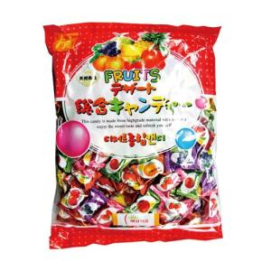 『韓国キャンディー』デザート 総合キャンディー・果物味(750g・業務用) キャンディー 韓国お菓子 韓国食品|paldo