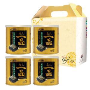 【ギフトセット】『宋家』一品のり|味付けのり(30gx4缶)■紙バック付 のりセット 韓国のり 韓国海苔 韓国食材 韓国食品|paldo