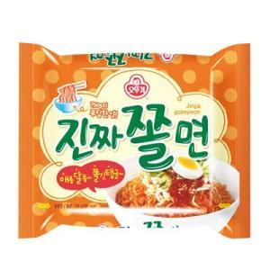 『オトギ』ジンチャチョル麺(150g・560kcal) オットゥギ オトッギ インスタントラーメン チョル麺 韓国ラーメン 韓国食品|paldo