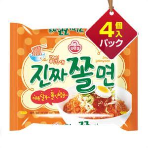 『オトギ』ジンチャチョル麺(4個入りパック) ■1個当り204円 オットゥギ オトッギ インスタントラーメン チョル麺 韓国ラーメン 韓国食品|paldo