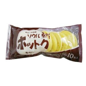 『韓餐』ソウル 手作りホットク(60gx10枚入) 韓国お菓子 冷凍食品 韓国食品