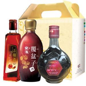 【ギフトセット】果実酒3種セット(石榴酒、宝海トックリ酒、名家園トックリ酒) 韓国お酒 韓国酒|paldo