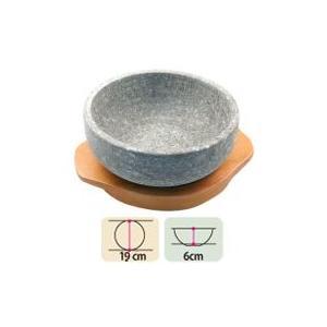 【お得価格】石焼きビビンパ鍋+下敷きセット(19cm) [石鍋][お鍋][キッチン用品][料理器具]|paldo