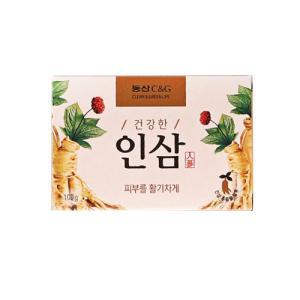 コンパクト便対応可 『韓国の石けん』 竹塩 石けん(100g)■ 韓国石鹸 美容石鹸 洗顔|paldo