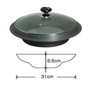 『調理器具』鍋料理用鍋|厚手の鍋■サイズ(直径31cm×深さ6.5cm) 韓国石鍋 韓国鍋 キッチン用品 調理器具 韓国食器|paldo|02