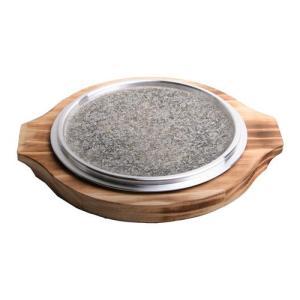 『石板』チヂミ板セット24cm | 石板 調理器具 キッチン用品 韓国食器|paldo