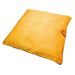 ■韓国座布団■韓国の伝統のざぶとんセット【黄色】綿入り50cmx50cm■韓国食品 韓国雑貨|paldo