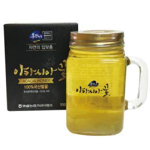 『ウソン農産』アカシア蜂蜜 韓国産蜂蜜(600g)[はちみつ/ハチミツ][健康食品][韓国食品] paldo