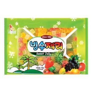 【期間限定SALE】【商品入荷の状況によりメーカー変更】『ブグッF&C』カキ氷用ゼリー|パッビンス用ゼリー(180g / 630kcal) 韓国食材 韓国食品|paldo