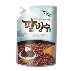 【期間限定SALE】『ファガバン』かき氷用小豆|パッビンス用あずき(1kg) デザート 韓国食材|paldo
