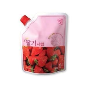 『ファガバン』イチゴシロップ|かき氷用(500g) パッビンス 寒天 デザート トッピング 韓国食材|paldo