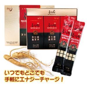 『DONGSEO製薬』紅参精エブリデイゴールドスティック(10g×30包・液状タイプ) 健康補助食品 紅参エキス 韓国食品|paldo
