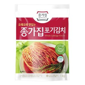 【訳あり★お得価格】『宗家』白菜 ポギキムチ(1kg) チョンガ 白菜キムチ 韓国キムチ 韓国食材 韓国料理 韓国おかず 韓国食品|paldo