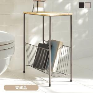 サイドテーブル おしゃれ 木製 アンティーク ベッド横 スリム|palette-life