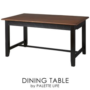 ダイニングテーブル おしゃれ 食卓机 テーブル 木製 シック エレガント|palette-life