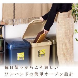 ゴミ箱 45リットル 分別 ダストボックス お...の詳細画像5