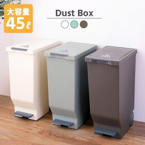 ゴミ箱 45L おしゃれ ダストボックス 屋内用 フタ付き|palette-life
