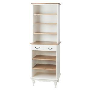 キッチンボード 食器棚 シェルフ ラック 木製 おしゃれ 棚 オープンシェルフ 収納 カントリー|palette-life