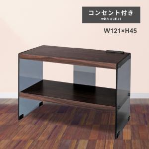 テレビ台 テレビボード ローボード TV台 ガラス 木製|palette-life