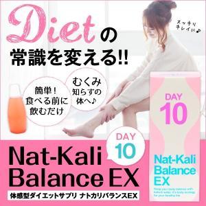 ダイエット、むくみ、難消化性デキストリン、カリウム、ピーチ味 ナトカリバランスEX(10包)|palette-store01