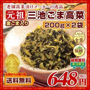 金ごま入り!元祖ごま高菜(220g)X2袋