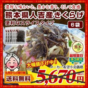 濃厚な旨みと豊かな香り 熊本県 人吉産 きくらげ(20g)×6袋 スライスタイプ 国産 キクラゲ 九州 木耳 きくらげ 希少 わけあり 得トクセール|palm-gift