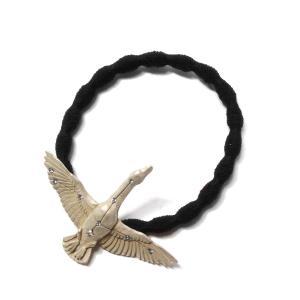 星座 白鳥 鳥 星 ヘアゴム おしゃれ おとな ヘアアクセ レディース PalnartPoc パルナートポック プレゼント   白鳥座ヘアゴムSV|palnartpocstore