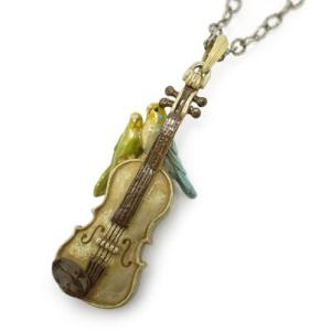 ネックレス レディース ロング PalnartPoc ブランド 楽器 バイオリン パルナートポック直営 プレゼント 愛の挨拶ネックレス|palnartpocstore