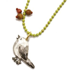 鳥 ネックレス レディース ロング PalnartPoc ブランド パルナートポック直営 プレゼント  シマエナーガネックレス|palnartpocstore