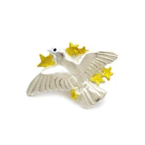 タックピン パーツ   鳥タックピン   レディース  メンズ PalnartPoc ブランド パルナートポック直営 プレゼント クルッポ タックピン|palnartpocstore