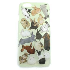 セール 半額 ウサギ図鑑ハード スマートフォンケースiPhone6・6s PalnartPoc直営 アイフォン カバー 可愛い 人気 スマホケース パルナートポック|palnartpocstore