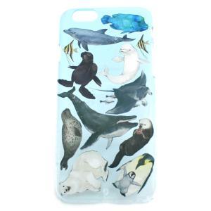 ポイント消化 セール 半額 水族館ハード  iPhone6・6s PalnartPoc直営 アイフォン カバー 可愛い 人気 スマホケース パルナートポック palnartpocstore