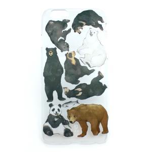 ポイント消化 セール 半額 クマ図鑑ハード  iPhone6・6s PalnartPoc直営 アイフォン カバー 可愛い 人気 スマホケース パルナートポック palnartpocstore