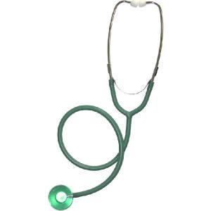 カラー聴診器 外バネ、シングルタイプ No.110 緑|palstore
